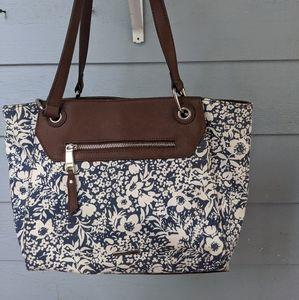 Chaps canvas purse